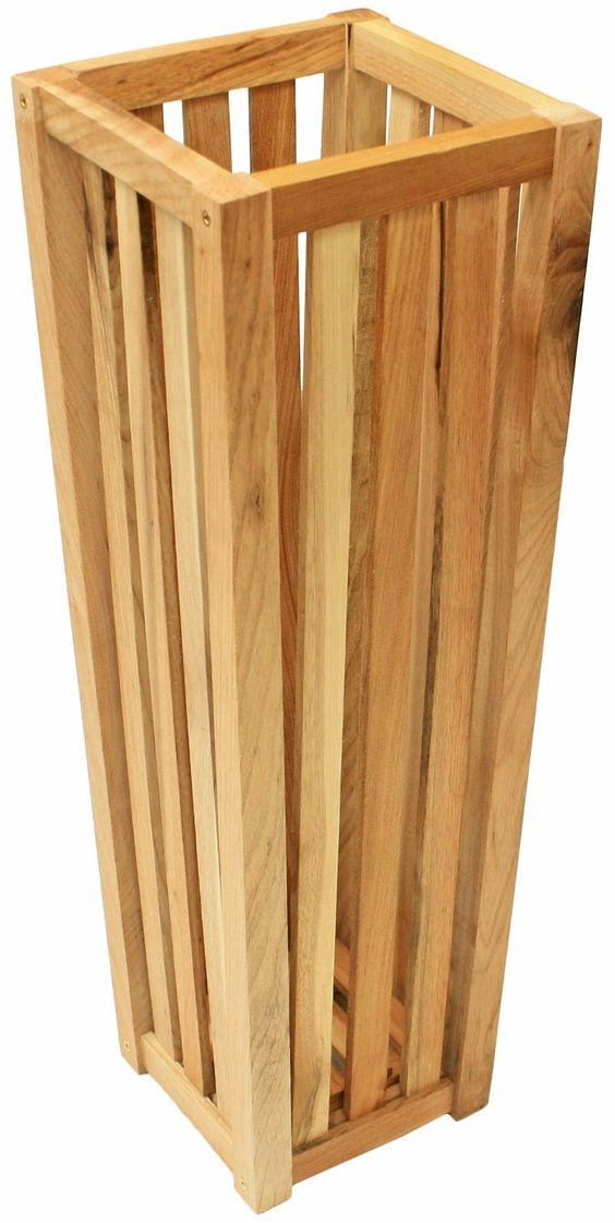 Maribelle Wooden Square Umbrella/Walking Stick Storage Bin