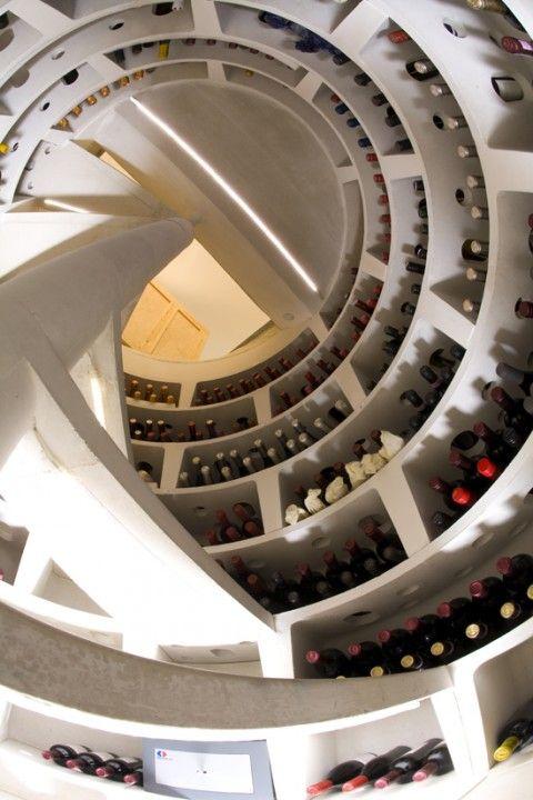 The Original Spiral Wine Cellar Stairs Stairs