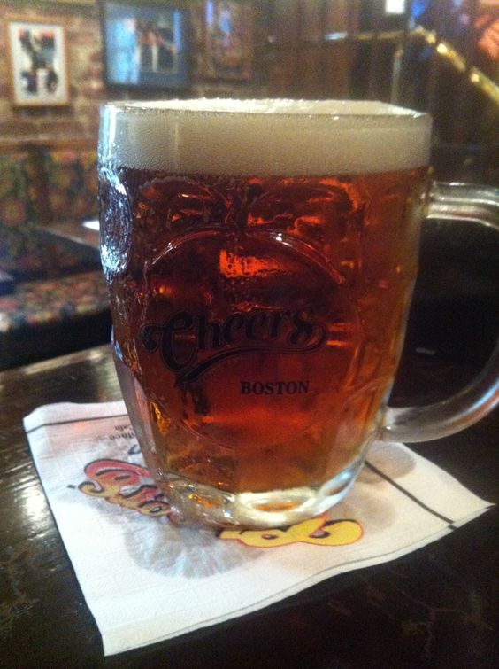 """A pint in the famous """"Cheers"""", Boston The Hampshire House began it all. Was this pub home to a 'beer club that ran? Or a running club that drank? Find a front running bastard Barley Hopper and ask."""