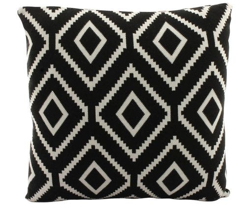 Knitted cushion cover Navette