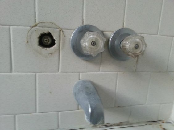 To Fix Shower Heads And Faucet Handles On Pinterest