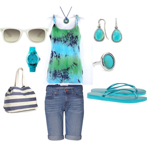 turquoise......, created by rhgrubby on Polyvore