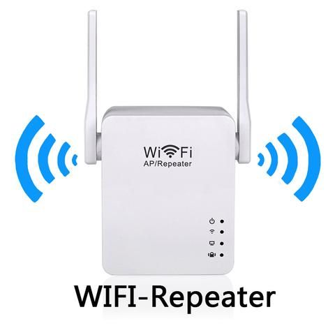 Wifi Repeater + USB Charge 300Mbps Wifi Signal Amplifier 2.4G Wifi Extender 2dBi…