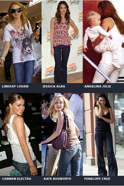 Celebrities who wear Hudson Jeans