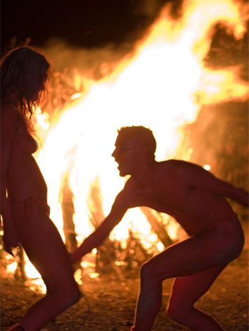 Beltane-- festival of sex, freedom, fertility. :):