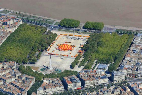 bons plans gratuits a Bordeaux - la place des Quinconces