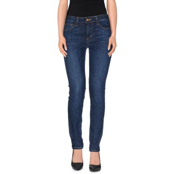 Joe's Jeans Jeans featuring polyvore, fashion, clothing, jeans, blue, slim fit blue jeans, faded blue jeans, slim blue jeans, zipper jeans and slim fit jeans