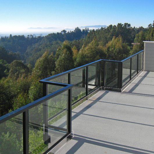 Grs Taper Loc Glass Railing System From C R Laurence Balcony Railing Design Aluminum Railing Balcony Glass Design
