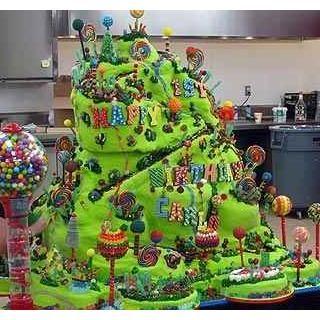 Candy Mountain Cake Boss