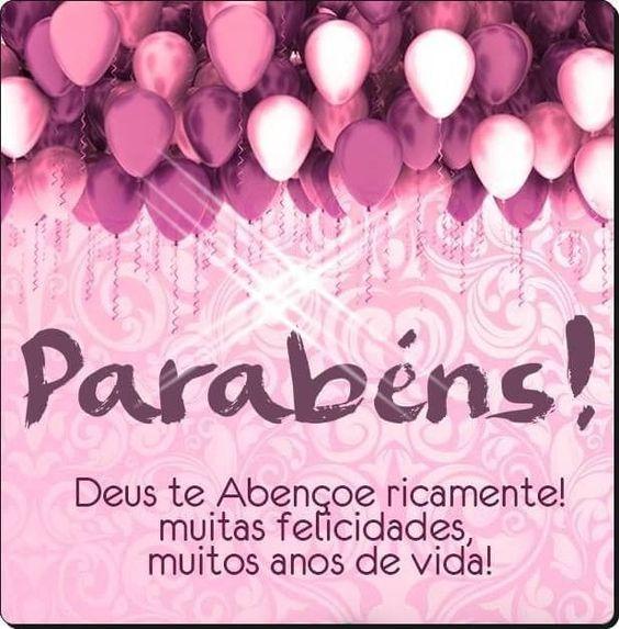 Deus te abençoe ricamente! muitas felicidade, muitos anos de vida!