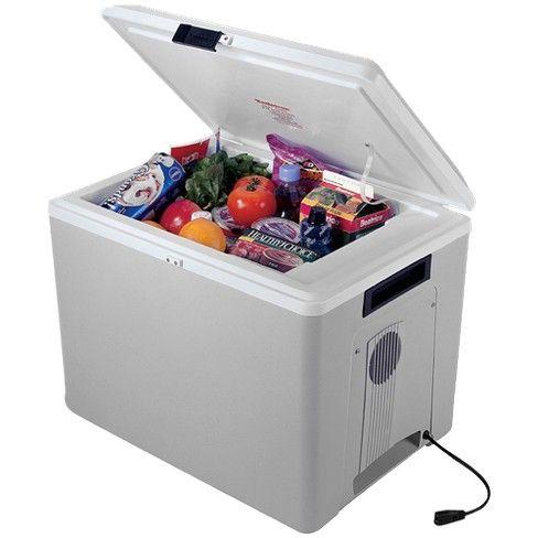 Koolatron Kool Kaddy Thermoelectric Cooler Target Car Cooler Portable Cooler Camping Fridge
