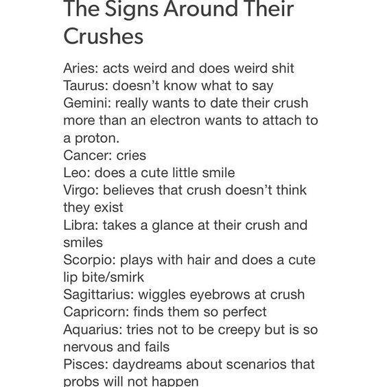 Zodiac Sign Facts English Zodiacs Around Their Crush Zodiac Star Signs Zodiac Signs Gemini Zodiac Sign Traits