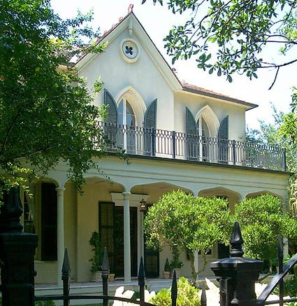 Gothic revival house, Garden District, New Orleans