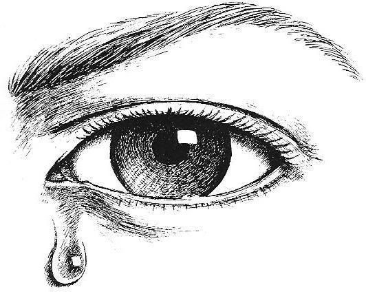 Pin By Minhaj On In Memory Of A Personal Tragedy Crying Eyes Mayan Art Ink Sketch