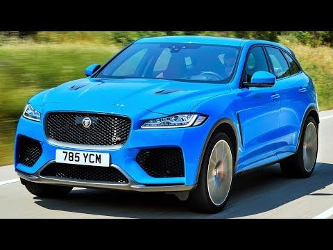 All Cars New Zealand Video 2020 Jaguar F Pace Svr Everyday Practical Jaguar Suv Jaguar Awd