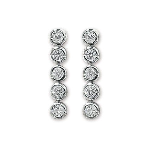 Sterling Silver 925 Celtic Cross Earrings Butterfly Fastening Gift Boxed UK