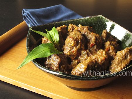 Rendang with Beef Cheeks