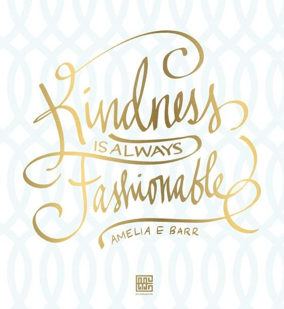 Be Kind.: