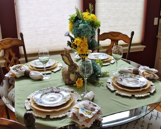 Southern Seazons: ideias tablescape