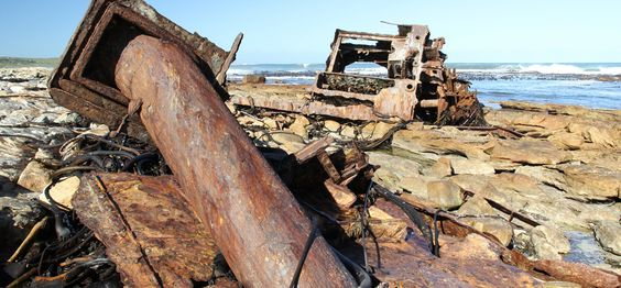 While many wrecks look somewhat like scrapyards, they offer fascinating insight into a turbulent maritime history. Photograph by Dave Knight...