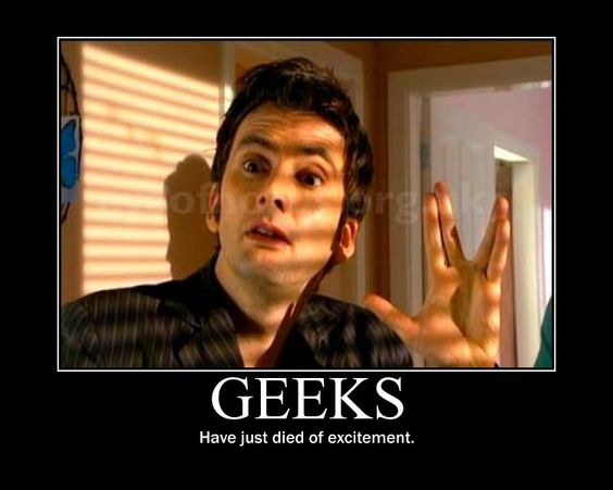 Geeks have just died of excitement!