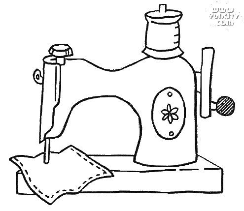 Super Machine à coudre dessin - l'atelier couture VH12