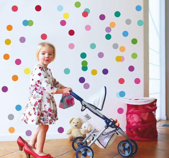 Vinilos infantiles para el cuarto del beb bebe y hijos for Vinilos pared habitacion