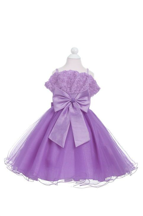 Girls princess dress--PURPLE