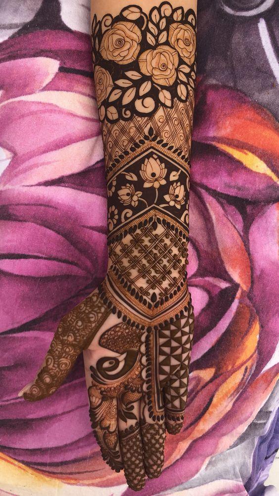 Rose Mehndi Design Rose Mehndi Designs Latest Bridal Mehndi Designs Wedding Mehndi Designs