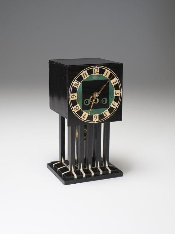 Charles Rennie Mackintosh (Scottish , 1868 - 1928) Mantle Clock 1917