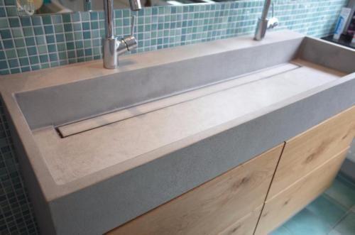 Betonmobel Waschtische Aus Beton Indivudiuell Und Nach Mass In Bergisch Gladbach Waschtisch Holz Beton Waschtisch Waschtisch Holz