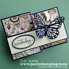 Welcome to our World Card Making Day Blog Hop using current Stampin' Up!® Products. This is such a fantastic way to celebrate this event with lots of amazing inspiration for you. You are currently visiting my blog - Jazzy Stamping in Cambridge, New Zealand and you will be visiting lots of different places in your hop today. There is a list at the end of the page which will help you to move along from blog to blog so you see 20 amazing projects all up. World Card Making Day celebrates the…
