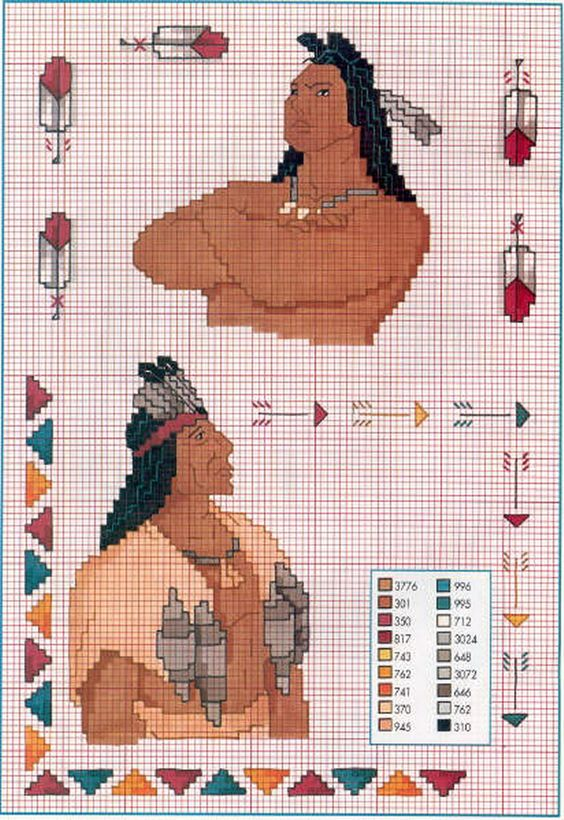 Punto croce indian and pocahontas on pinterest for Schemi punto croce disney gratis