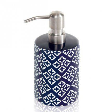 Dozownik do mydła w płynie Möve - Capri - granatowy