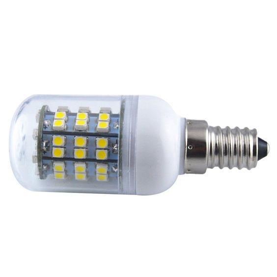 Toogoor Energy Saving E14 60 Smd 3528 Led 450lm Corn Light Lamp Bulb 30003500k Equivalent Halogen 50w Warm White See This W Lamp Light Lamp Bulb Save Energy