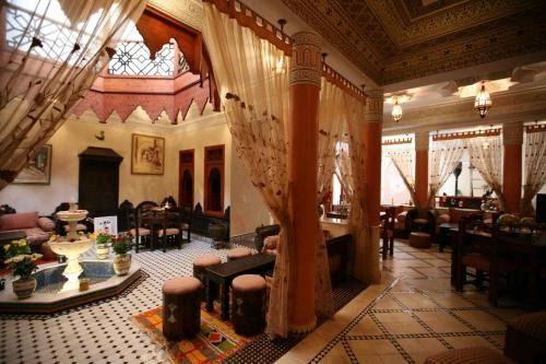 jardín marroquí