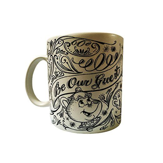 "Disney Parks Beauty & The Beast ""Be Our Guest"" Mug Authentic Original Disney mug"