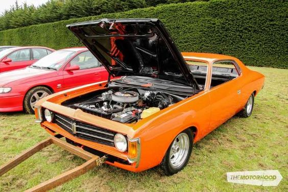 Strewth! Have a gander at the cars of Christchurch's All OZ Car Show