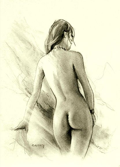 dessin animé nue ambre aphrodite