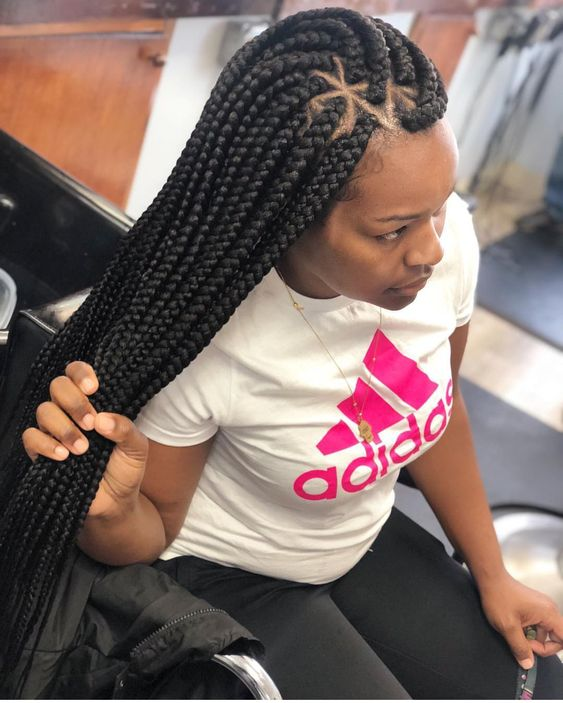 Latest African Braided Hairstyles