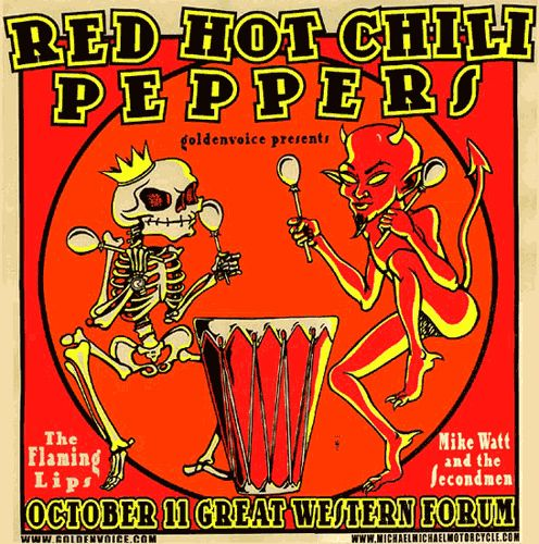 Red Hot Chili Pepper Hots For Tour