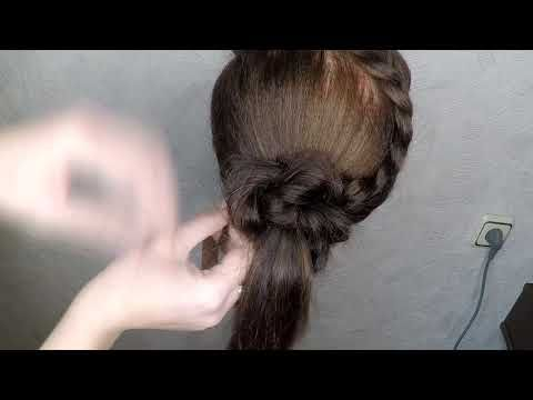 Very Easy Hairstyle Braided Hairstyles New Hairstyle Easy Hairstyles Youtube Very Easy Hairstyles Hair Styles Braided Hairstyles