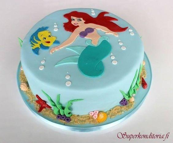 ariel mermaid birthday cakes little mermaid cakes cakes mermaid cakes ...