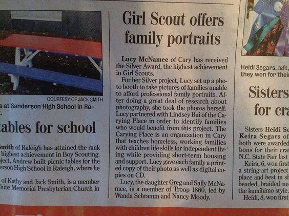 Silver Award Ideas | Girl Scouts Gold Award & Silver Award ...
