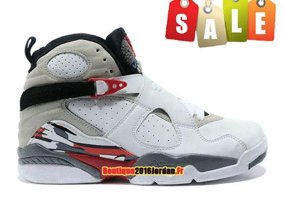 Homme Nike Air Jordan 30 Blanc/Noir/Orange