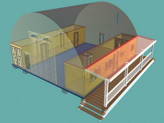 Underground shipping container home plans keifner homestead ideas pinterest unique home - Shipping container homes underground ...