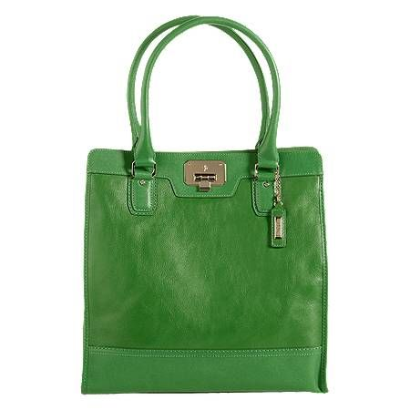 Perfection in green leather