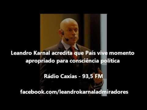 LEANDRO KARNAL acredita que País vive momento apropriado para consciênci...