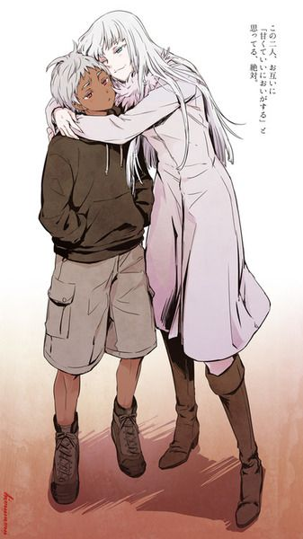 Jonah and Koko (Jormungand) Artist Unavailable
