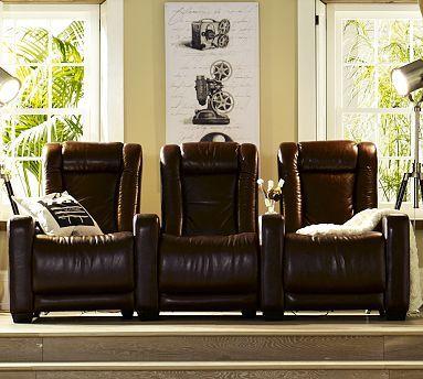 pottery barn reclining sofa 2